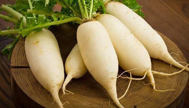 Hết ho, khản tiếng nhờ củ cải trắng
