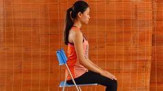 2 phút với 6 bài tập yoga tăng cường sức khỏe toàn diện cho phụ nữ 40