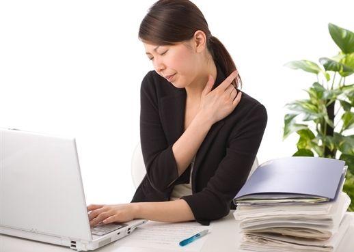 Không còn lo nhức mỏi với những bài tập đơn giản thực hiện ngay tại văn phòng