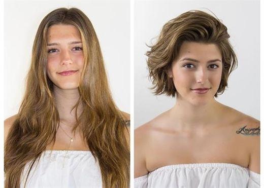 'Lột xác' nhờ thay đổi sang kiểu tóc ngắn