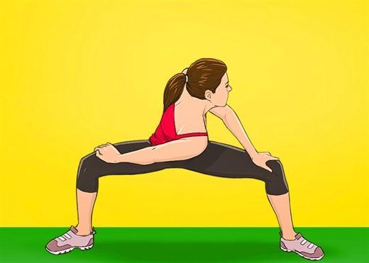Mỡ bụng chảy xệ biến mất sau 3 tuần tập động tác sau