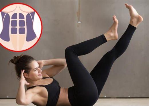 7 bài tập giúp bụng  phẳng, eo thon, khỏi cần dùng nịt bụng