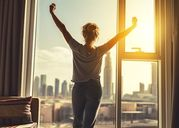 """4 lợi ích """"đáng kinh ngạc"""" nếu bạn thức dậy đúng một khung giờ mỗi ngày"""