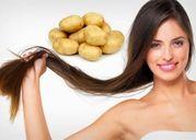 Tóc mọc nhanh, óng mượt chỉ sau 2 tuần dùng nước ép khoai tây