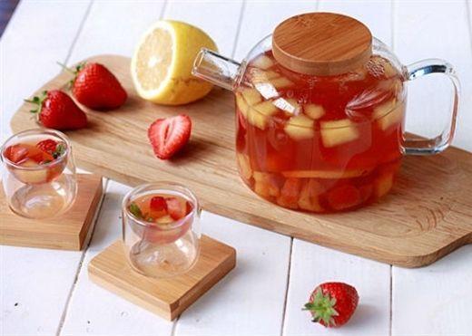 Thoải mái ăn Tết chẳng lo nóng trong người với 8 công thức trà trái cây giải nhiệt