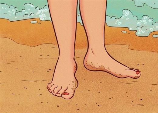Đi chân trần thường xuyên giúp chữa lành những cảm xúc tiêu cực