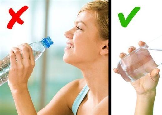 Đây là những tác hại với cơ thể nếu bạn không uống đủ nước khi tập luyện