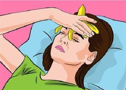 Tận dụng VỎ CHUỐI để dưỡng da, trị đau nửa đầu