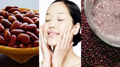 6 công thức làm đẹp da từ đậu đỏ cực hay