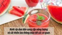 10 thực phẩm màu đỏ cực kỳ bổ máu