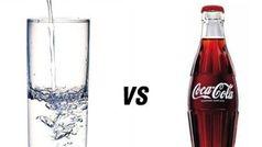 Sự khác nhau khi uống 1 ly nước lọc và 1 ly nước ngọt