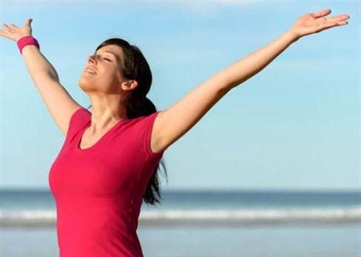 Cách tập hít thở giúp vòng bụng săn chắc