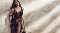 Naomi Campbell: Nàng báo đen đầy hoang dại và quyến rũ