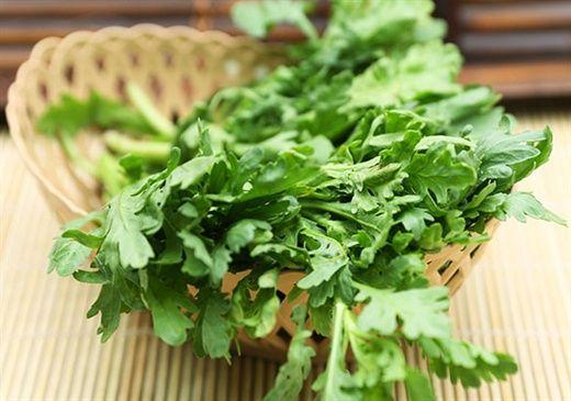 Món ăn, bài thuốc từ RAU CẢI CÚC giúp chữa bệnh thường gặp mùa lạnh