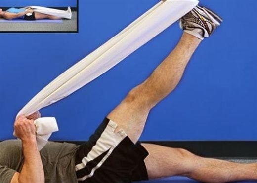 6 bài tập vật lý trị liệu cho người thoái hóa khớp gối