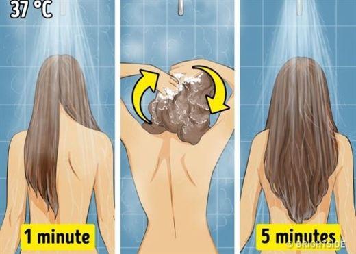 Tuân thủ 9 quy tắc này, nếu bạn muốn có một mái tóc sạch và khỏe đẹp