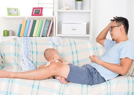 Ngày càng nhiều nam giới mắc chứng trầm cảm sau sinh