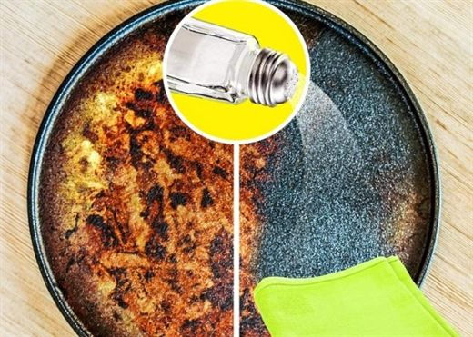 10 công dụng vệ sinh hữu ích của muối ăn