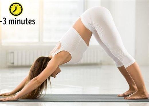 Chỉ với 8 tư thế Yoga đơn giản, da khỏe, dáng đẹp, ngăn ngừa rụng tóc