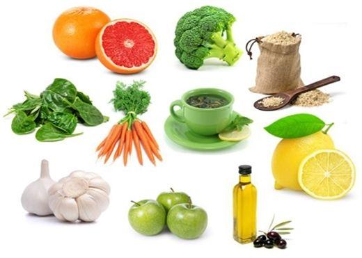 Thực phẩm giúp giải độc mát gan vào ngày hè