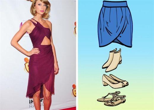 Cách kết hợp giày với chân váy siêu xinh cho các nàng