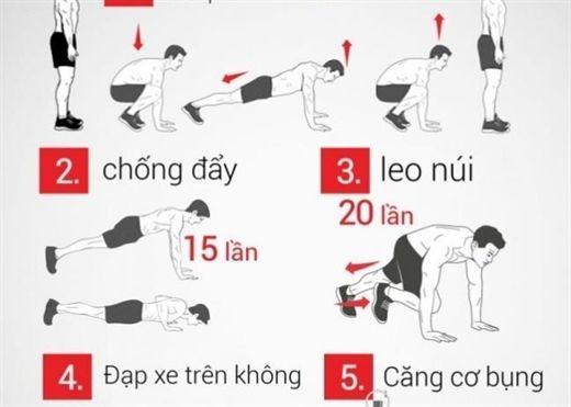 Thức dậy! và bắt đầu tập thể dục giảm cân để một ngày mới tràn đầy năng lượng