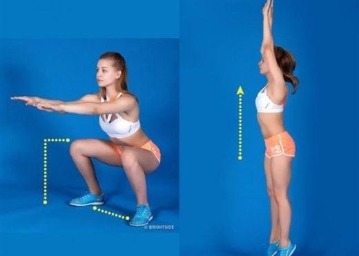 9 bài tập squat cho xương chắc khỏe và 3 vòng hoàn hảo