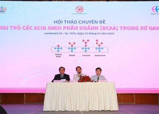 Vai trò các acid amin phân nhánh trong bệnh gan
