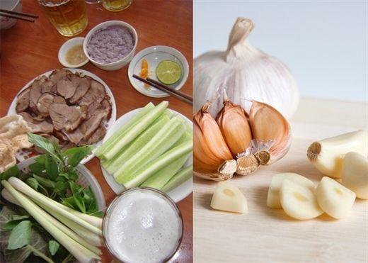 Những loại thực phẩm kết hợp với TỎI sẽ gây ra độc tố cực nguy hiểm cho cơ thể