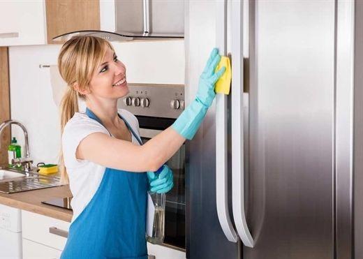 7 bước vệ sinh tủ lạnh sạch bong đúng cách để bảo sức khỏe gia đình