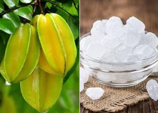 Cách làm khế chua ngâm đường phèn: Thức uống cực tốt chữa được nhiều bệnh