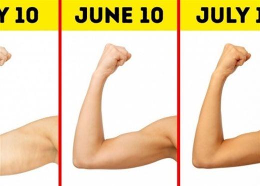 Bài tập tay đơn giản - tiện lợi - hiệu quả có thể giúp bạn sở hữu cánh tay siêu mẫu