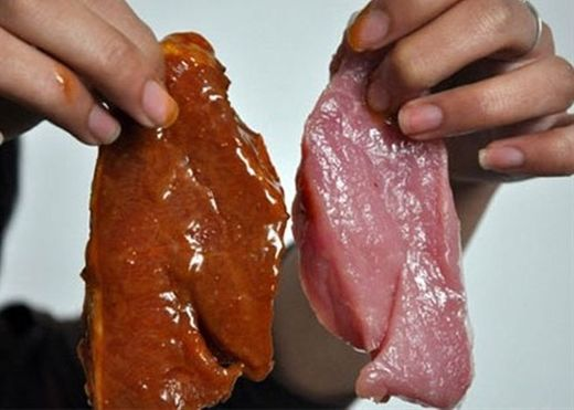 Cận Tết, học ngay cách phân biệt thịt bò giả làm từ thịt lợn sề và hóa chất