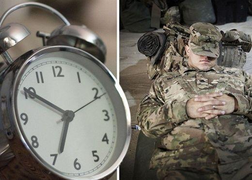 Bí kíp ngủ ngon của quân đội Mỹ: Chìm vào giấc ngủ trong vòng 2 phút dù ngày hay đêm