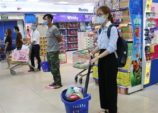 5 quy tăc đảm bảo an toàn khi đi siêu thị trong mùa dịch Covid-19