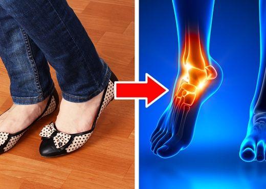 6 loại giày tuy thời trang nhưng lại có thể để lại tác hại quá nhiều trên cơ thể bạn