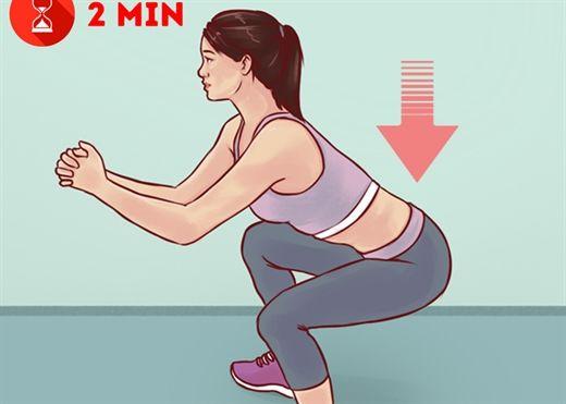 Lịch tập luyện tại nhà có thể biến đổi toàn bộ cơ thể của bạn chỉ trong 1 tháng