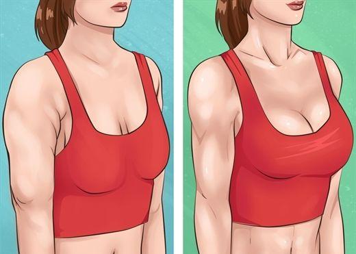 10 bài tập đơn giản giúp cho cánh tay thon gọn và vòng ngực săn chắc