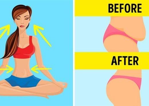 Tuyệt chiêu giảm mỡ bụng cực hiệu quả chỉ với những bài tập thở đơn giản
