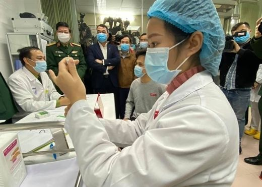 Đã có 3 người đầu tiên được tiêm thử vắc xin Covid-19 'made in Việt Nam'