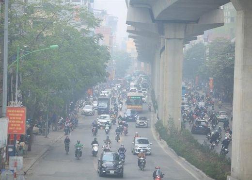 Hà Nội ô nhiễm không khí ở mức nguy hiểm trước khi đón không khí lạnh tăng cường