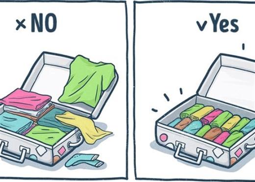 9 bí kíp sắp xếp hành lý nhanh gọn cho kì nghỉ cuối năm