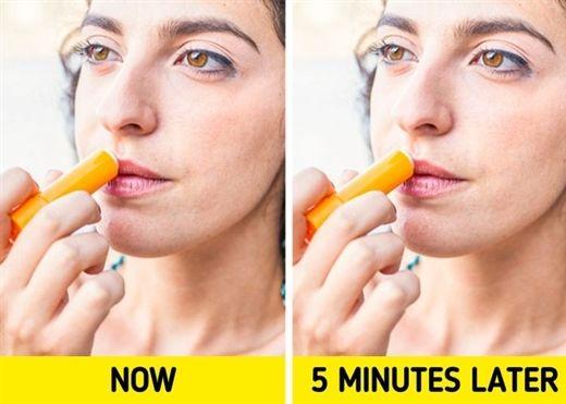 Điều gì xảy ra với đôi môi khi bạn sử dụng son dưỡng quá thường xuyên?