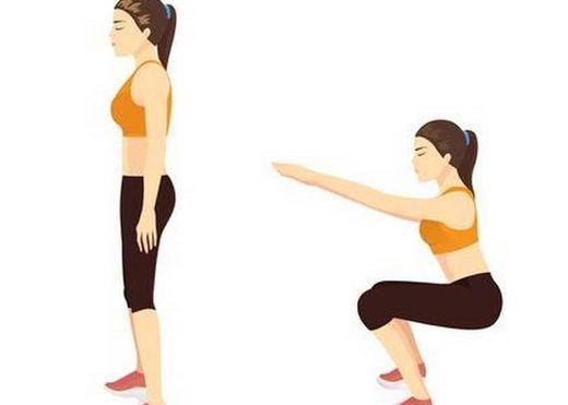 Những sai lầm phổ biến nhiều người mắc phải mỗi khi squats mà không hề hay biết