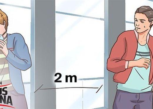 Giữ khoảng cách 2 mét ở trong nhà liệu có đủ để ngăn tiếp xúc với hơi thở có chứa virus gây bệnh COVID-19?