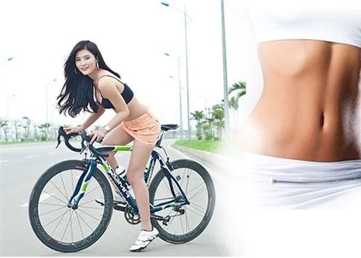 Giảm cân hiệu quả chỉ với việc đạp xe