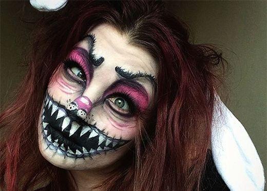 Trang điểm kinh dị đêm Halloween: 5 ý tưởng rùng rợn nhất