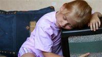 Tivi là thủ phạm khiến trẻ mất ngủ