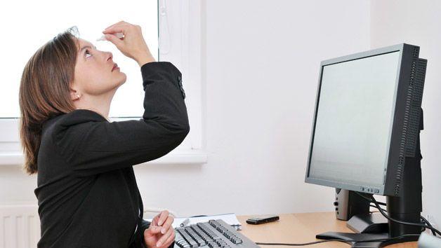 Xử lý nhanh bệnh KHÔ MẮT của dân văn phòng